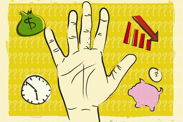Palm Reading Chart Money Line