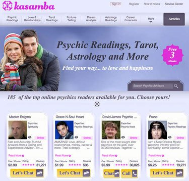 kasamba psychics help find your path to happiness