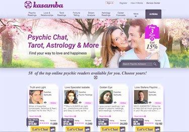 kasamba psychic network