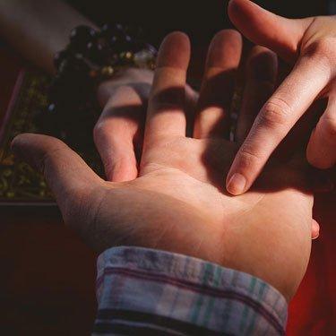 in depth fate line reading in palmistry