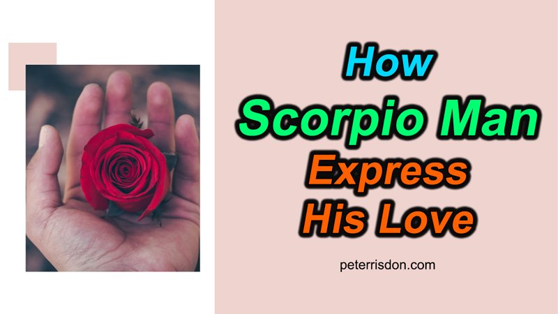 Falling is signs a scorpio in love man How Do