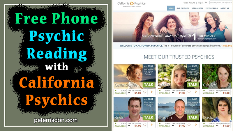 Free Phone Psychic Reading with California Psychics (Truth Exposed!)