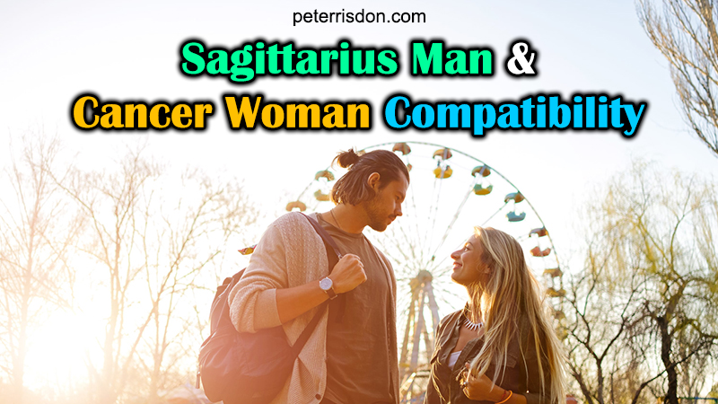 sagittarius man cancer woman romantic relationship compatibility